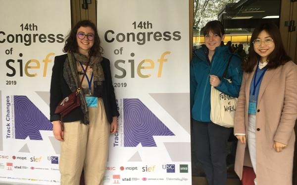 folklore students present at SIEF conference