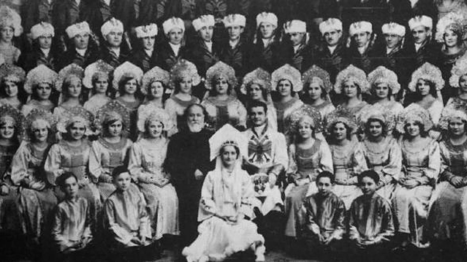 The St. Theodosius Russian Choir, Cleveland, 1932