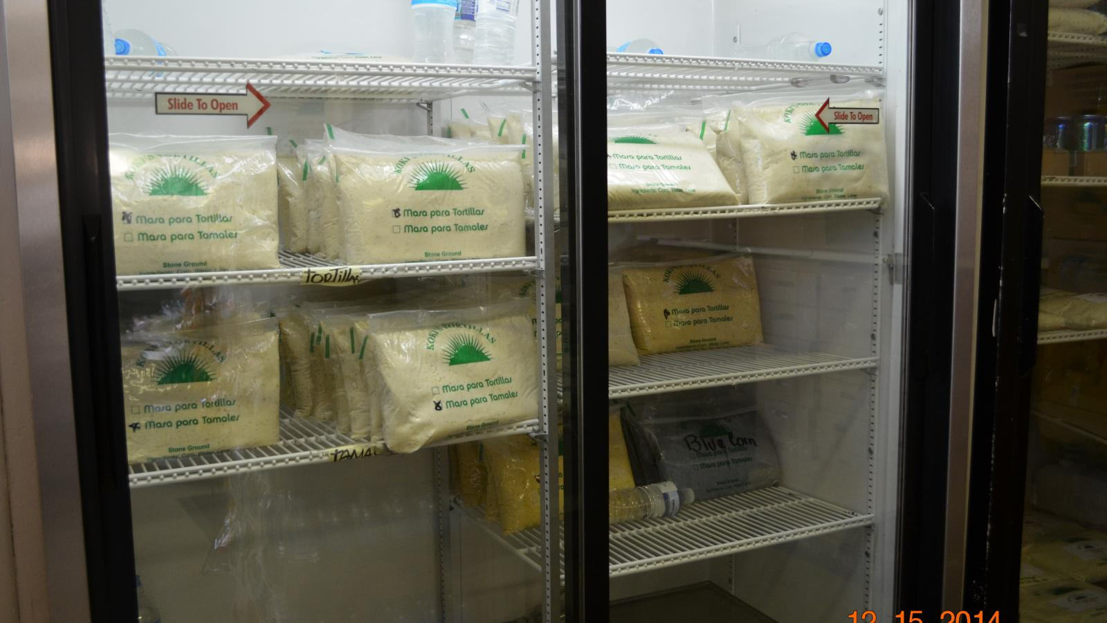 Bags of Masa, Koki's Tortillas, South Hilltop, OH