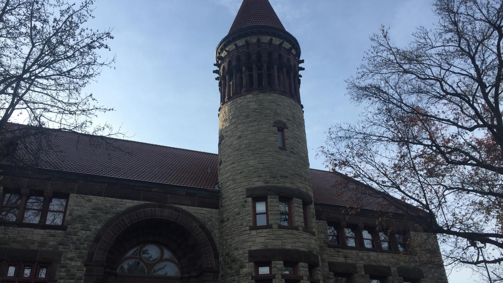 Ohio State University Campus Religion: Orton Hall Tower