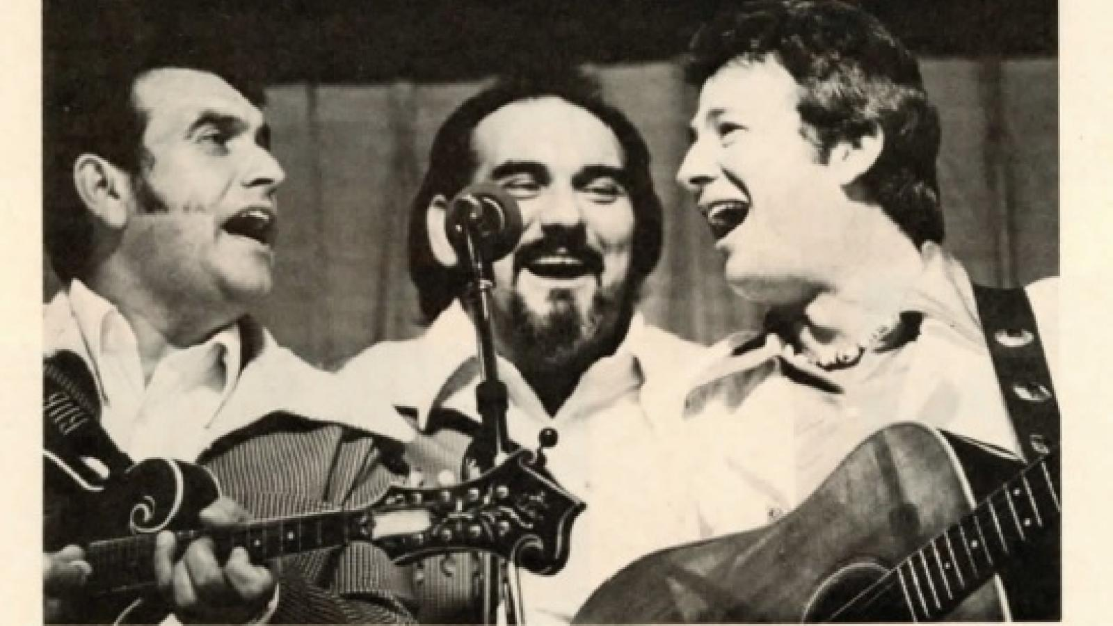 The Osbourne Brothers (who grew up near Dayton, Ohio) in Bluegrass 77 magazine.