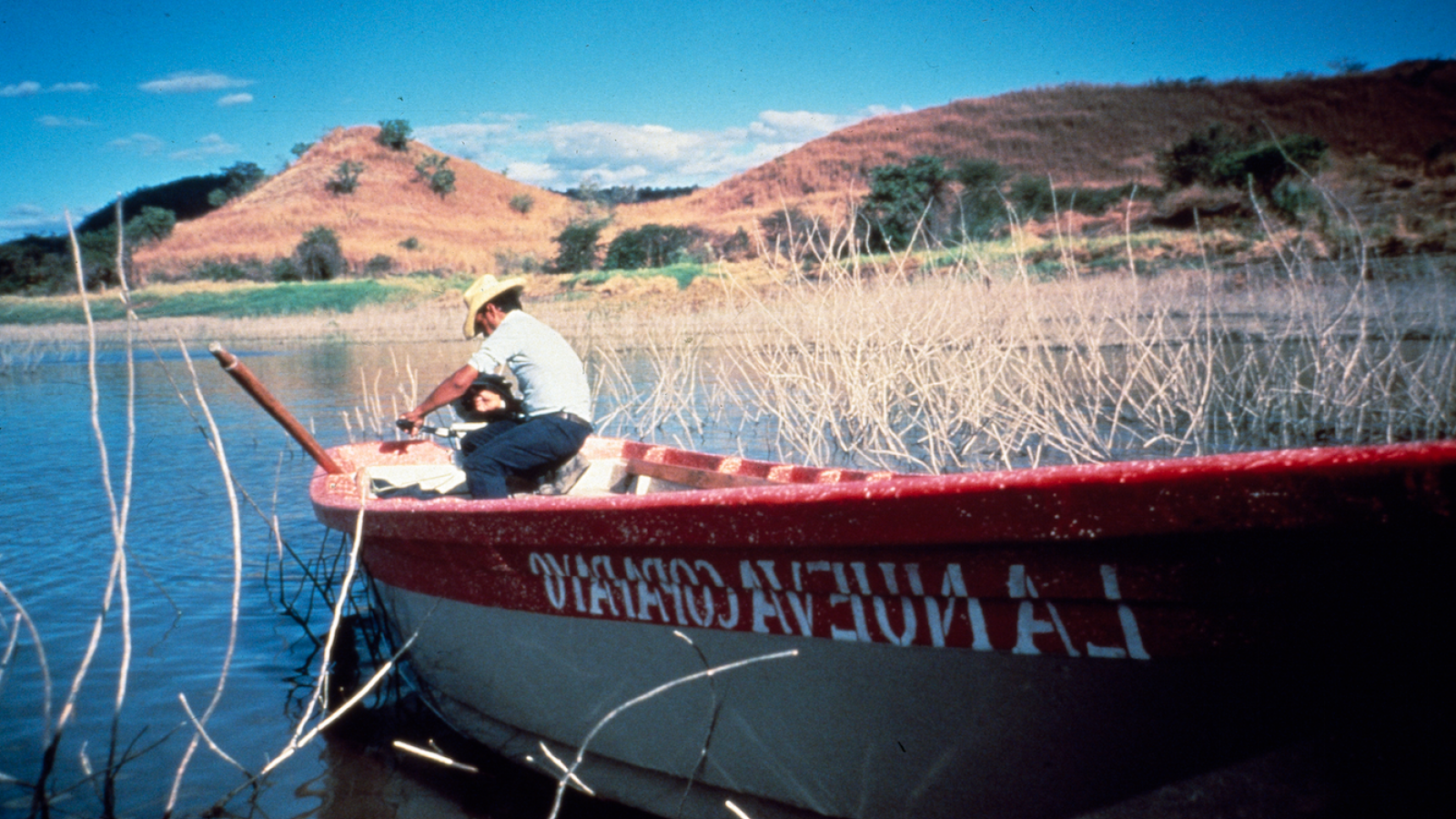 Photo of a Man in a Boat - Copapayo