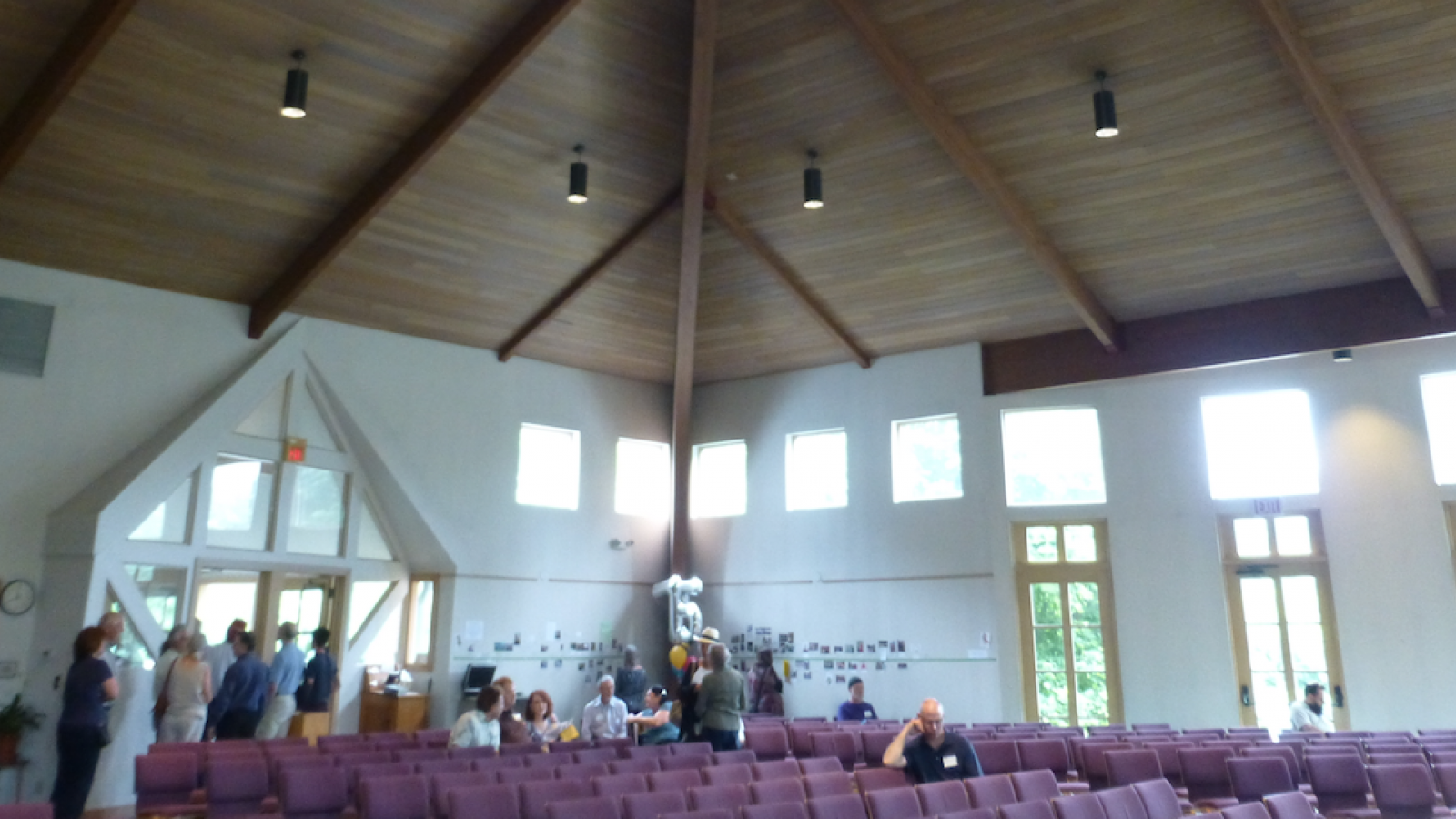 Worship Center at First Unitarian Universalist Church of Columbus