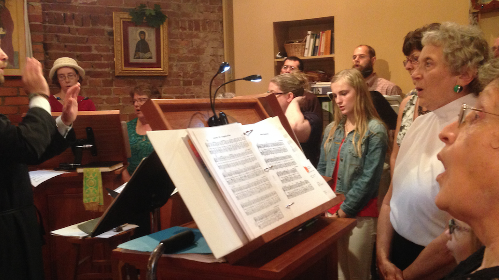 Choir at St. Gregory of Nyssa Orthodox Church