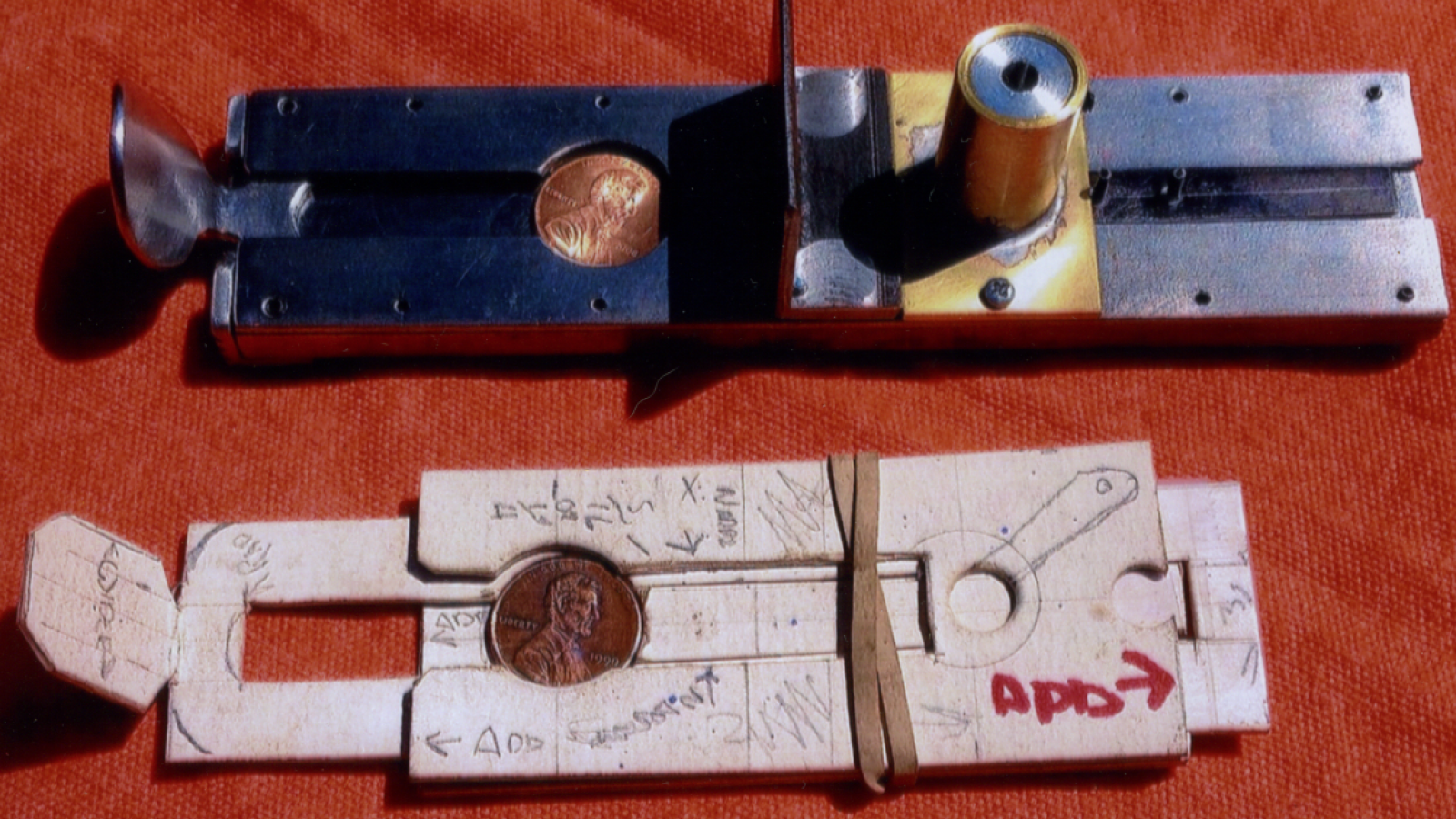 Coin mechanism for larger sculpture
